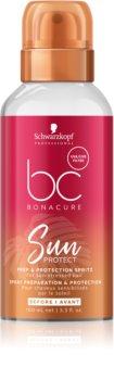 Schwarzkopf Professional BC Bonacure Sun Protect zaštitna magla za kosu iscrpljenu klorom, suncem i slanom vodom