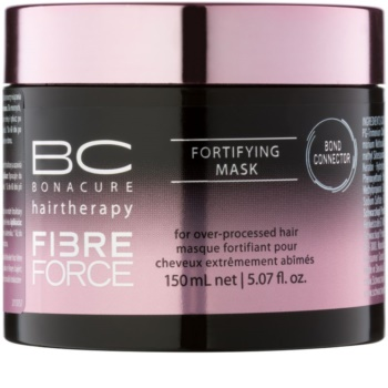 Schwarzkopf Professional BC Bonacure Fibreforce máscara fortificante para cabelo muito danificado