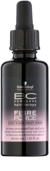 Schwarzkopf Professional BC Bonacure Fibreforce serum para restaurar el cuero cabelludo y el cabello maltratado