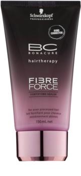 Schwarzkopf Professional BC Bonacure Fibreforce leite sem enxaguar para cabelo muito danificado