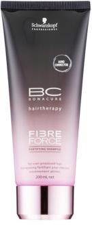Schwarzkopf Professional BC Bonacure Fibreforce зміцнюючий шампунь для пошкодженого волосся