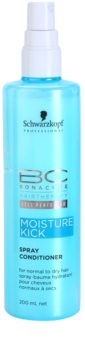 Schwarzkopf Professional BC Bonacure Moisture Kick après-shampoing en spray pour cheveux normaux à secs
