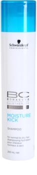 Schwarzkopf Professional BC Bonacure Moisture Kick hydratisierendes Shampoo Für normales bis trockenes Haar
