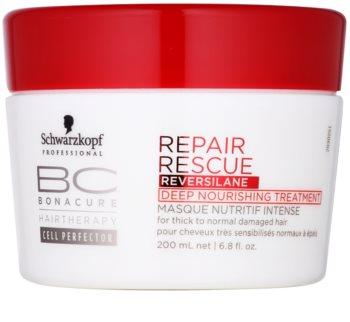 Schwarzkopf Professional BC Bonacure Repair Rescue hĺbkovo vyživujúca kúra pre poškodené vlasy