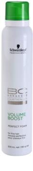 Schwarzkopf Professional BC Bonacure Volume Boost zdokonaľujúca pena pre jemné vlasy