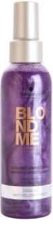 Schwarzkopf Professional Blondme незмивний кондиціонер у формі спрею для холодних відтінків блонд