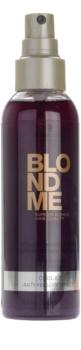 Schwarzkopf Professional Blondme acondicionador en spray sin enjuague para tonos rubios fríos