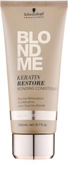 Schwarzkopf Professional Blondme Keratine Herstellende Conditioner  voor Alle Blonde Haartypen