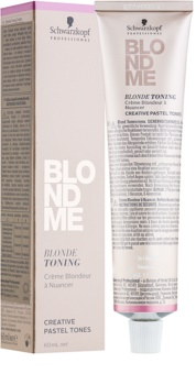 Schwarzkopf Professional Blondme crema con color para cabello rubio