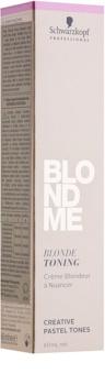 Schwarzkopf Professional Blondme tónovací krém pro blond vlasy