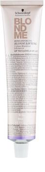 Schwarzkopf Professional Blondme posvetlitvena krema za blond lase