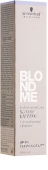 Schwarzkopf Professional Blondme zosvetľujúcí krém pre blond vlasy