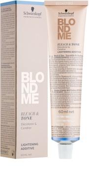 Schwarzkopf Professional Blondme изсветляваща и тонираща добавка