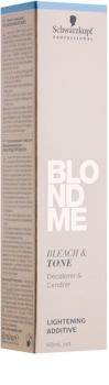 Schwarzkopf Professional Blondme aditivo iluminador y colorante