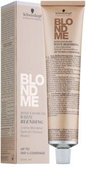 Schwarzkopf Professional Blondme creme de clareamento para cobrir cabelos brancos
