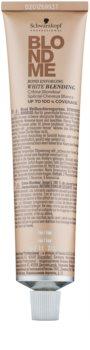Schwarzkopf Professional Blondme posvetlitvena krema za prekrivanje belih las