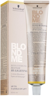 Schwarzkopf Professional Blondme zosvetľujúcí krém