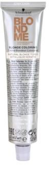 Schwarzkopf Professional Blondme Color  coloração de cabelo para tons de loiro naturais