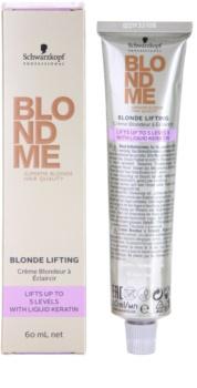 Schwarzkopf Professional Blondme Color hajfesték