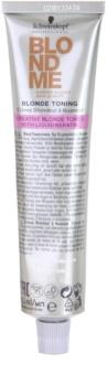 Schwarzkopf Professional Blondme Color tonizáló krém