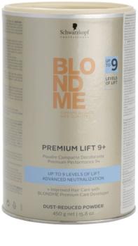 Schwarzkopf Professional Blondme Color pó aclarador premium 9+ com poeira reduzida