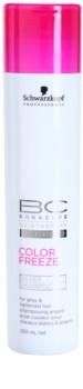 Schwarzkopf Professional PH 4,5 BC Bonacure Color Freeze šampón so striebornými reflexmi pre blond a šedivé vlasy