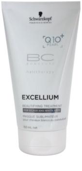 Schwarzkopf Professional BC Bonacure Excellium Beautifying skrášľujúca starostlivosť pre šedé a biele vlasy