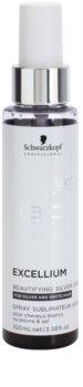 Schwarzkopf Professional BC Bonacure Excellium Beautifying Ezüst pigment spray fehér és ez´¨ust hajszín élénkítésére