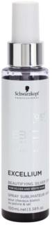 Schwarzkopf Professional BC Bonacure Excellium Beautifying spray con pigmentos plateados para realzar y suavizar el tono del cabello blanco y plateado