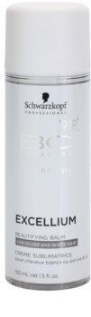 Schwarzkopf Professional BC Bonacure Excellium Beautifying bezoplachový zkrášlující balzám pro šedé a bílé vlasy