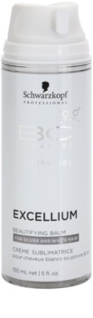 Schwarzkopf Professional BC Bonacure Excellium Beautifying bezoplachový skrášľujúci balzam pre šedé a biele vlasy