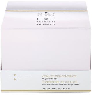 Schwarzkopf Professional BC Bonacure Excellium Power Shot revitalizační kúra pro mladistvý vzhled vlasů