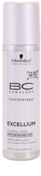 Schwarzkopf Professional BC Bonacure Excellium Plumping leöblítést nem igénylő kondicionáló spray formában az érett hajra
