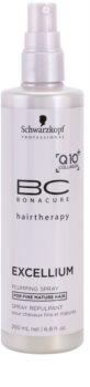 Schwarzkopf Professional BC Bonacure Excellium Plumping acondicionador en spray sin enjuague para cabello fino maduro