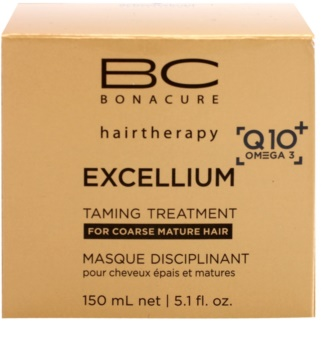 Schwarzkopf Professional BC Bonacure Excellium Taming маска за груба зряла коса