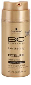 Schwarzkopf Professional BC Bonacure Excellium Taming vyhladzujúce mlieko pre tepelnú úpravu vlasov
