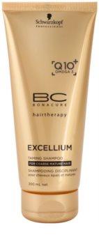 Schwarzkopf Professional BC Bonacure Excellium Taming šampon pro hrubé zralé vlasy