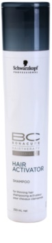 Schwarzkopf Professional BC Bonacure Hair Activator Hair Activating Shampoo For Thinning Hair