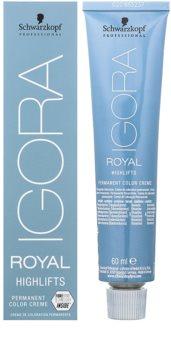 Schwarzkopf Professional IGORA Royal Highlifts cor para cabelo permanente