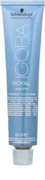 Schwarzkopf Professional IGORA Royal Highlifts tinte permanente para cabello