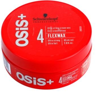 Schwarzkopf Professional Osis+ FlexWax cremiges Wachs ultra-starke Fixation