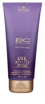 Schwarzkopf Professional BC Bonacure Oil Miracle Barbary Fig Oil obnovující šampon pro velmi suché a poškozené vlasy
