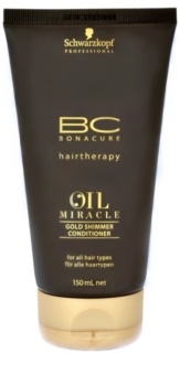 Schwarzkopf Professional BC Bonacure Oil Miracle Argan Oil Gold Shimmer Conditioner For All Types Of Hair
