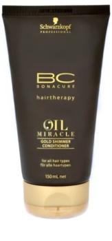 Schwarzkopf Professional BC Bonacure Oil Miracle Argan Oil odżywka do wszystkich rodzajów włosów