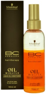 ecb6ef377d Schwarzkopf Professional BC Bonacure Oil Miracle Argan Oil Liquid Oil  Conditioner For All Hair Types