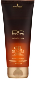 Schwarzkopf Professional BC Bonacure Oil Miracle Argan Oil champú para cabello normal y grueso
