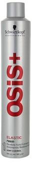 Schwarzkopf Professional Osis+ Elastic Finish Haarlak  voor Natuurlijke Fixatie