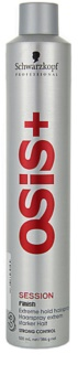 Schwarzkopf Professional Osis+ Session Finish laque cheveux fixation extra forte