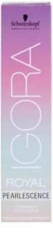 Schwarzkopf Professional IGORA Royal Pearlescence pasztell színű hajfesték