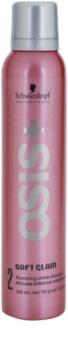 Schwarzkopf Professional Osis+ Soft Glam penové tužidlo pre objem a lesk
